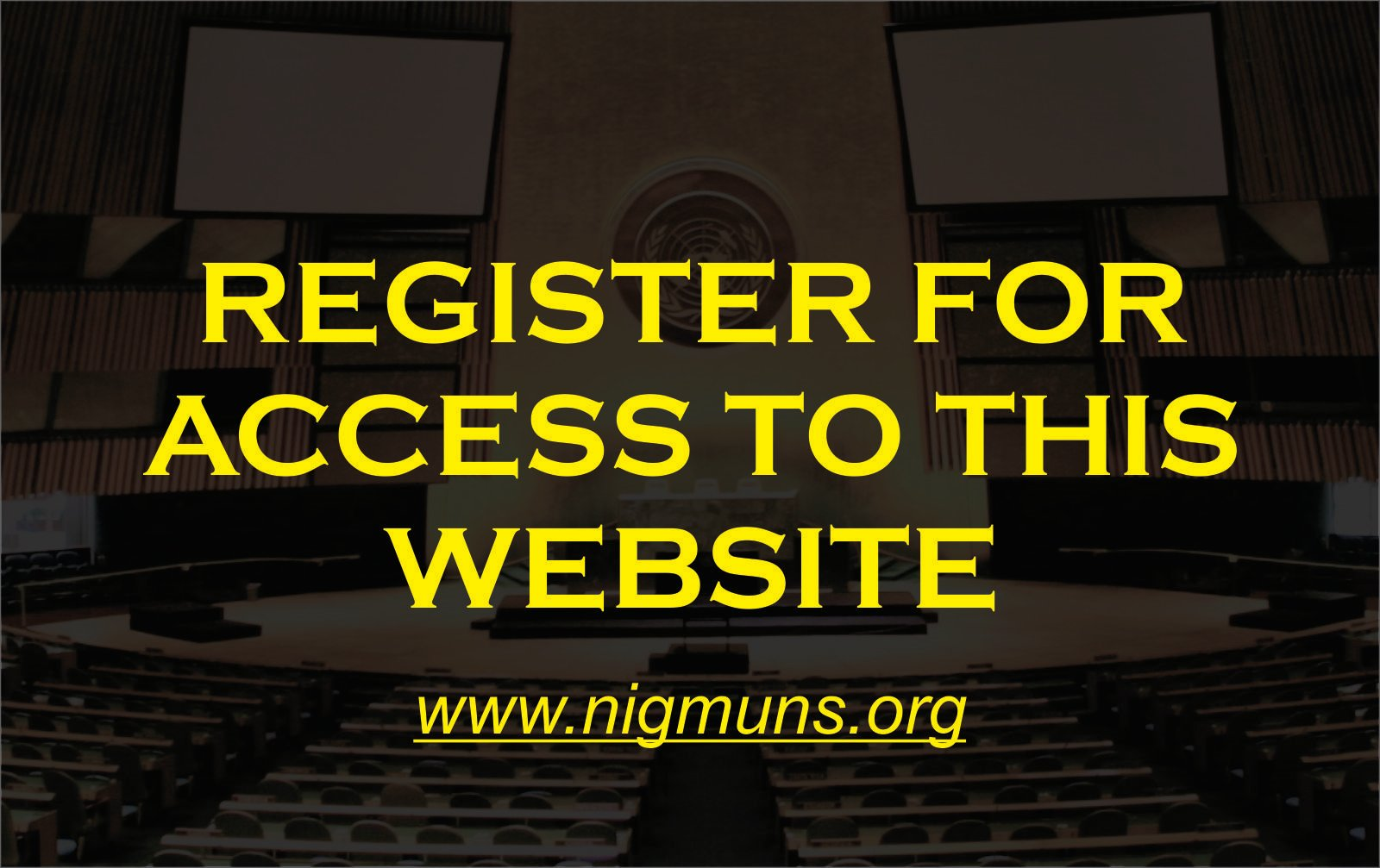 NigMUNS PORTAL REGISTRATION
