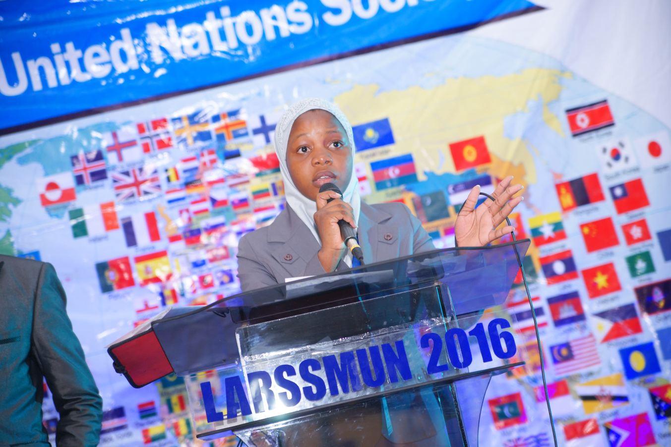 ZAINAB BALOGUN,          Secretary General