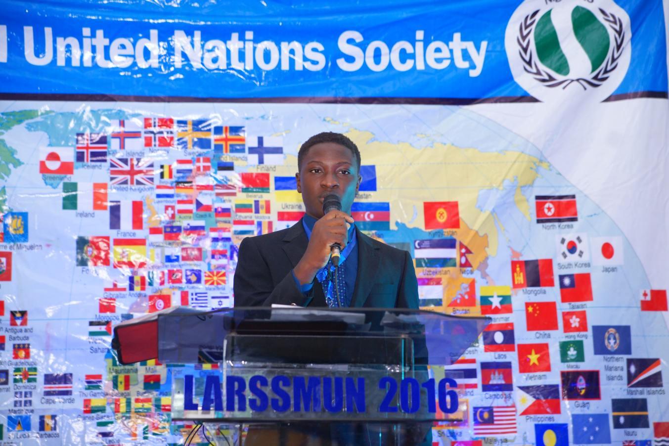 RICARDO TUNDE-ODE, Deputy Secretary General