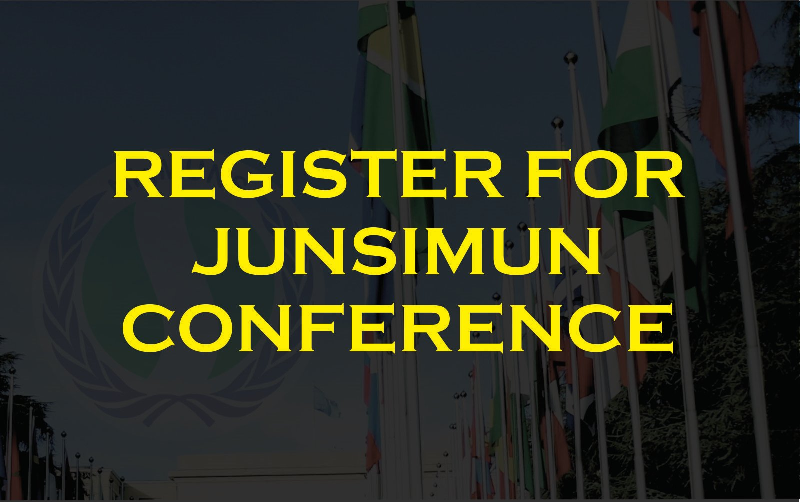REGISTER FOR JUNSIMUN CONFERENCE