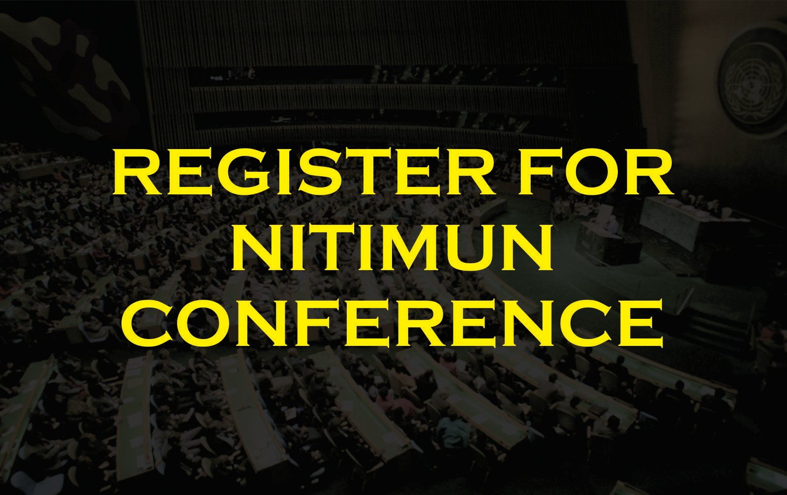 REGISTER FOR NITIMUN CONFERENCE